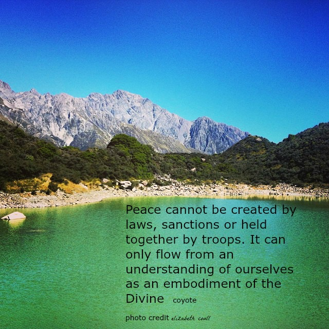 peace in the divine